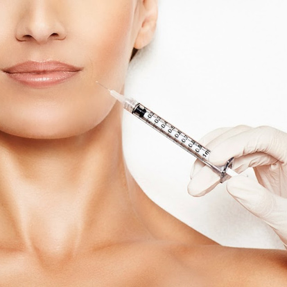 minimize bruising from facial injections
